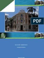 Hoja de Ruta Adecuación Administrativa Medicina UdeA