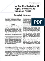 Harrison Forty Years on the Evolution of Theological Education by Extension Tee 20042