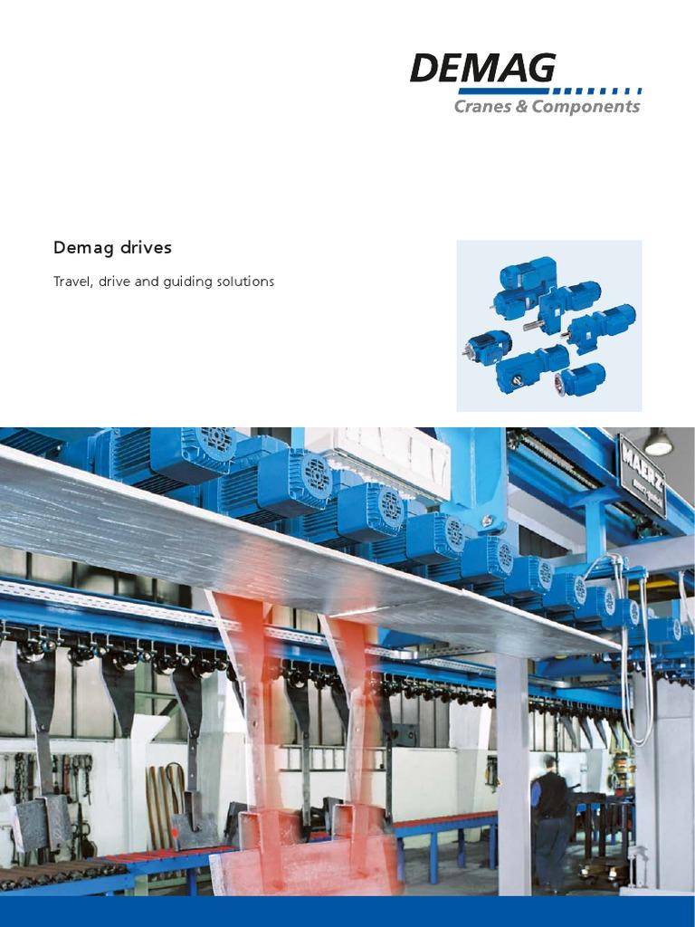 20873444_100201 Demag drives | Transmission (Mechanics) | Gear
