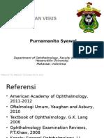 Pemeriksaan Visus Dr.purnamanita Syawal, Sp.M, M.kes