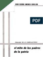 Juan Isidro Jimenes Grullon - El Mito de Los Padres de La Patria