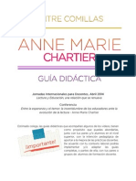 Guía Diáctica Sobre Conferencia de Anne Marie Chartier en FEL 2014
