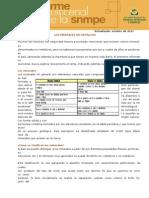 Informe Quincenal Mineria Los Minerales No Metalicos