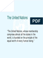 United Nations Introduction and Assignment