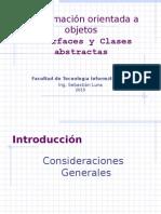 Unidad 3 - Interfaces, Abstractas y Más (2015)