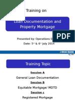 Loan Documentation 03-Jul14
