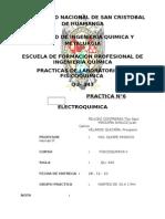 Fisco Quimi Nº 6 Electroquimica