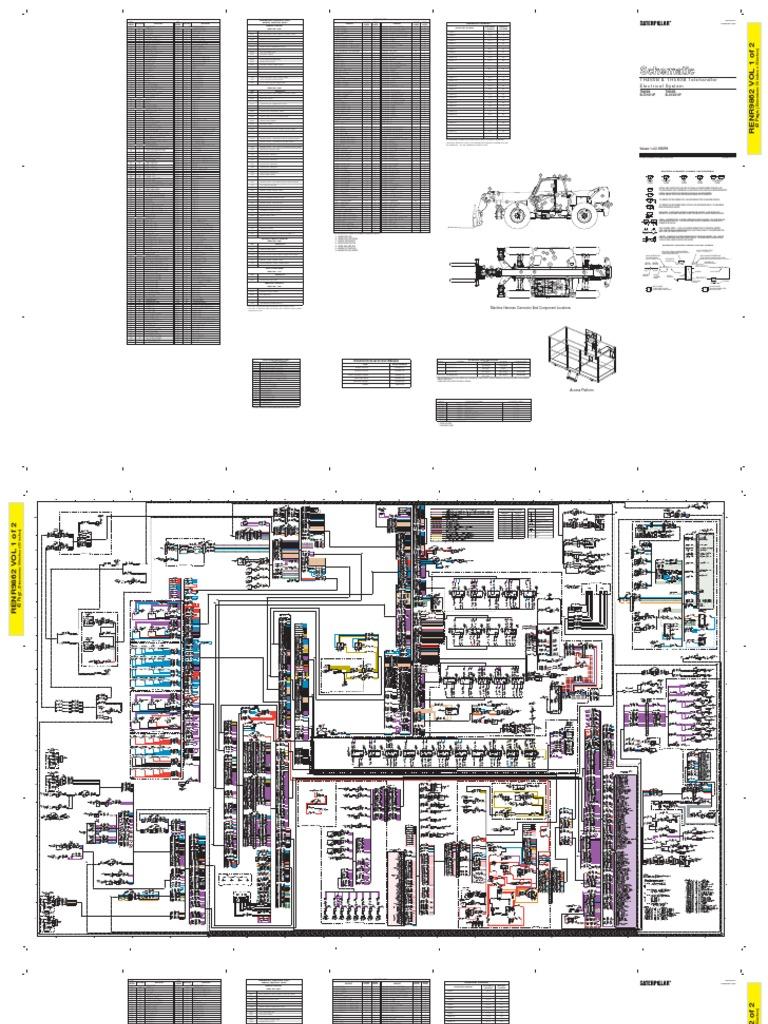 Cat Telehandler Wiring Diagrams Expert Schematics Diagram 2009 Arctic Z1 460b Schematic 400