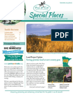 Special Places Newsletter Summer (july) 2015
