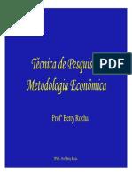 Aula IV - TPME Monografia