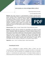 Em busca do direito de justiça nos crimes do Regime Militar do Brasil