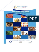 Oferta Exportable Nicaragua - 2014