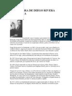 Vida y Obra de Diego Rivera