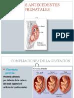 Otros Antecedentes Prenatales