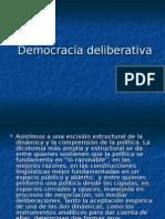 9) Democracia Deliberativa