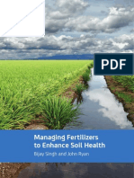 Managing fertilizers to enhance soil health