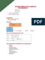 Composición Química Del Ladrillo Mecanizado Pres