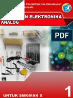 Rangkaian Analog Elektronika X-1