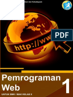 Pemrograman Web X-1