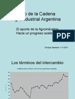 Szewach El Aporte de La Agroindustria
