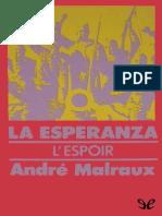 La esperanza - Andre Malraux.pdf