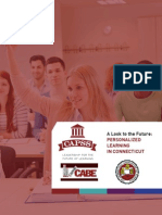 connecticut whitepaper re personalized learning