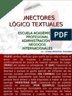 Conectores Lógico Textuales