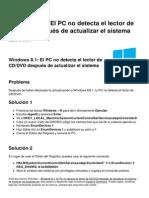 Windows 8 1 El Pc No Detecta El Lector de CD Dvd Despues de Actualizar El Sistema 14787 Nbbtie