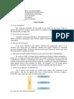 Estudo dirigido - Bioquímica