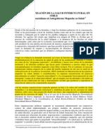 La Burocratización de La Salud Intercultural en Chile. a. Kuyul 5-08 (Recovered 1) Mapuche