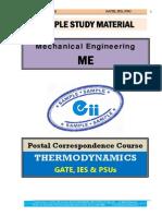Thermodynamics Mechanical GATE IES PSU Study Material