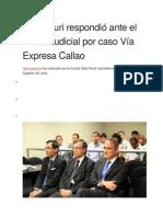 Alex Kouri Respondió Ante El Poder Judicial Por Caso Vía Expresa Callao