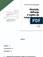Fagundes, A. J. F. M. (1985). Descrição, definição e registro de comportamento.pdf