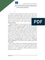 PRODUÇÃO DE PIRUVATO E ACETALDEÍDO
