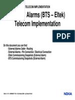 MTN TI External Alarms BTS Eltek DN606081 TI