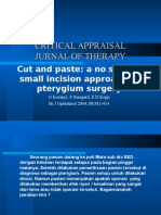 Critical Appraisal Therapi