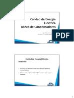 Calidad de Energia Condensadores-9na Sesion
