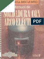Manual de Soldadura Con Arco Eléctrico.