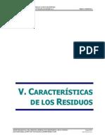Cap 5. Caracteristicas de los residuos solidos
