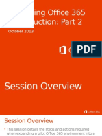 Deploying Office 365 in Production - Part 2