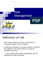 I & II - Introduction to Value & Risk Mgt. & Process Summary