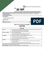 Armada 50 WP Mixing Instruction