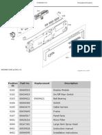 Bosch SHX68M05UC/50 Dishwasher Patrs List