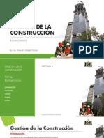 Gestion de la Construcción - Introduccion