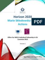 If-MSCA_Host Organizations in EU