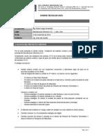 Informe Tecnico - CCTV Adicional