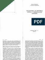 Marchese y Forradellas - Diccionario de Retorica, Crítica y Terminología Literaria
