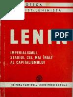 V.I. Lenin, Imperialismul, stadiul cel mai înalt al capitalismului