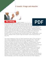 LTTE and Tamil Lunatic Fringe Anti-Muslim Racism