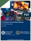 Potential Terrorist Attack Methods